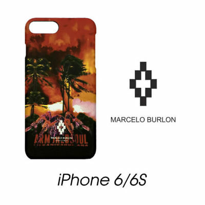Cover Marcelo Burlon Milan Apple Iphone 6/6S Tecks Paesaggio New Fw17