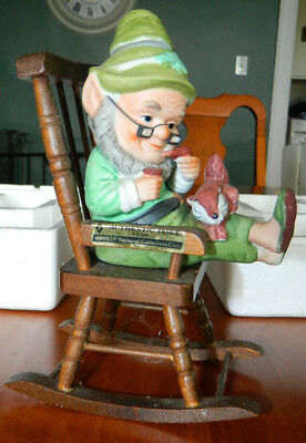 """Vintage Hoffman Distilling Co. """"Mr Lucky Retired"""" Collector Decanter in Box"""