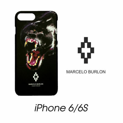 Cover Marcelo Burlon Milan Apple Iphone 6/6S Teukenk Gorilla New Fw17