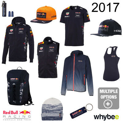 2017 Red Bull Racing F1 Formula One Team Official Puma Merchandise Collection
