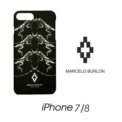 Cover Marcelo Burlon Milan Apple Iphone 7 Parr Raptor New Fw17