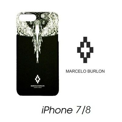 Cover Marcelo Burlon Milan Apple Iphone 7 Jen Piume New Fw17