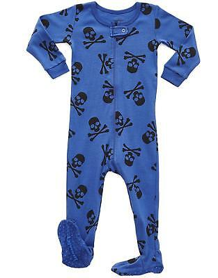 319932bc2 LEVERET BABY BOYS Footed Sleeper Pajama 100% Cotton (Size 6M-5 Years ...