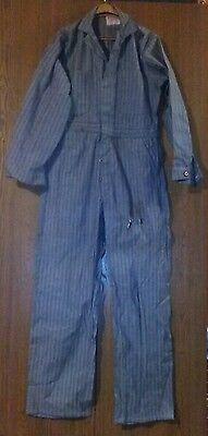 Vintage Universal Overall Co Chicago Union Made Stone Cutter 38 Work Coveralls