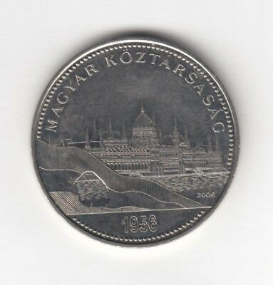 "50 forint coin ""50th anniversary of the 1956 Hungarian Revolution and War of In"""