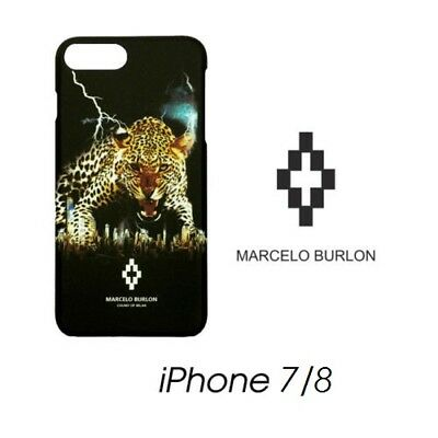 Cover Marcelo Burlon Milan Apple Iphone 7 Hor Giaguaro New Fw17