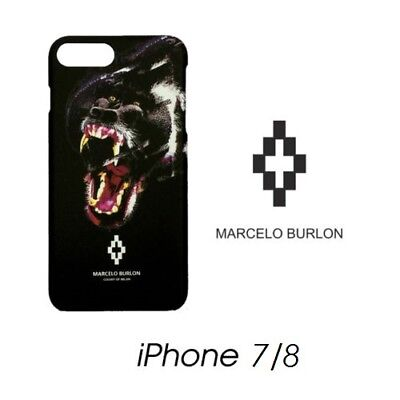 Cover Marcelo Burlon Milan Apple Iphone 7 Teukenk Gorilla New Fw17