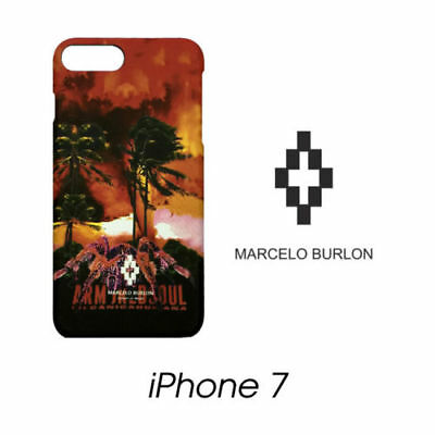 Cover Marcelo Burlon Milan Apple Iphone 7 Tecks Paesaggio New Fw17