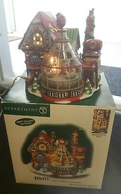 Dept 56 M&M's CANDY FACTORY animated - North Pole Series  # 56773   (717B)