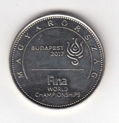 "50 forint coin ""17th FINA World Championships to be held in Hungary"""