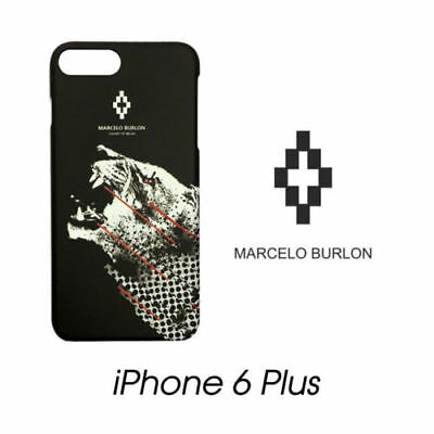 Cover Marcelo Burlon Milan Apple Iphone 6/6S Plus Sham Tigre New Fw17