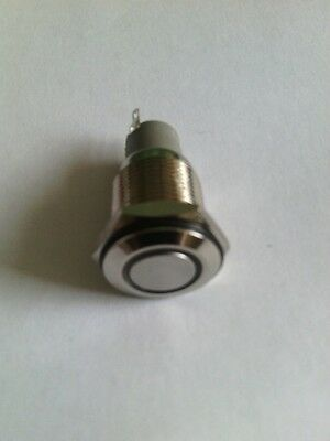 LED 16mm&19mm latching and Momentary switches  IP67 12V