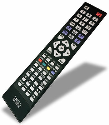 *NEW* Replacement TV Remote Control for Blaupunkt 23//157I-GB-3B-HBKDUP-ROI