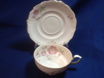 Tea Cup and Saucer Set Made in Bavaria Germany, 5 vintage antique