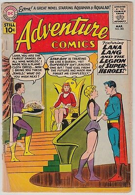 ADVENTURE COMICS #282 DC COMICS FR COND 1st STAR BOY 5th LEGION OF SUPER-HEROES