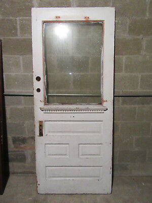 ~ ANTIQUE VICTORIAN DOOR ~ 35.75 x 84.5 ~ ARCHITECTURAL SALVAGE ~