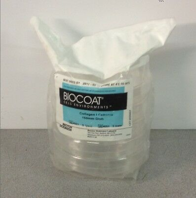 Pack Of 5 Biocoat 354551 Collagen Cellware 150mm Dish