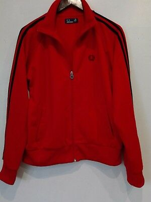 womens fred perry tracksuit  jacket size uk 16eur 44usa 12
