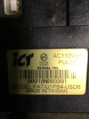 Ict Pa7 U1Pb4 Usd6 Dollar Bill Acceptor Tested Fully Working No Reserve