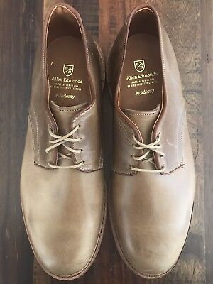 "Allen Edmonds ""ACADEMY"" Oxfords Shoes Size 11 E Natural 1591"