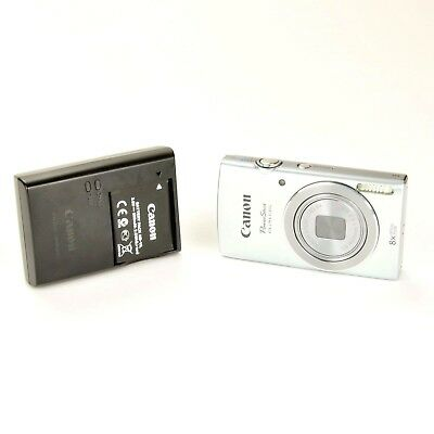 Canon PowerShot ELPH 135 16MP Digital Camera 8x Zoom Includes Battery & Charger