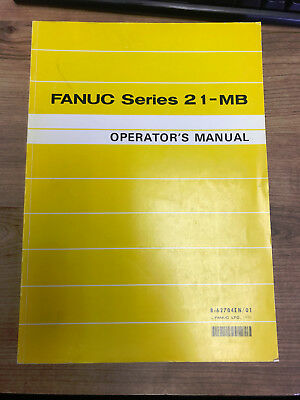 GE FANUC Automation Series 21-MB Operator's Manual