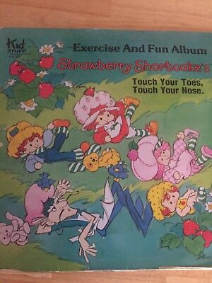 Vintage Strawberry Shortcake Collectable Vinyl Record