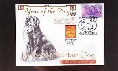 Bernese Mountain Dog Cov, 2006 Year Of The Dog Stamp 2