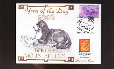 Bernese Mountain Dog Cov, 2006 Year Of The Dog Stamp 1
