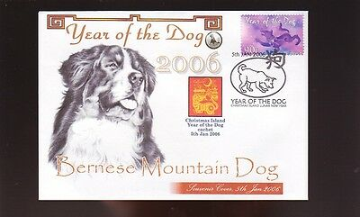 Bernese Mountain Dog Cov, 2006 Year Of The Dog Stamp 3