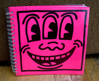 Keith Haring Tony Shafrazi Gallery 1982 Catalogue Second Print Limited Spiral