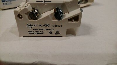 NEW WESTINGHOUSE CUTLER HAMMER J20 Type J Auxiliary Contact 9084A17G02
