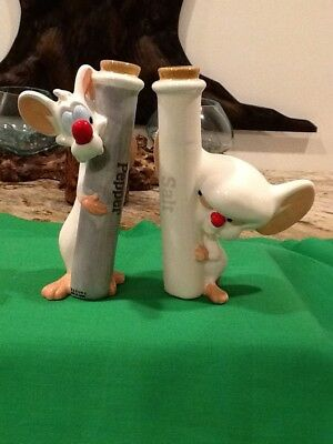 Animaniacs 1997 Warner Brothers Pinky And The Brain Salt Pepper