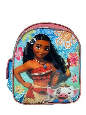 "Disney Moana Adventurous Girls 10"" Toddler Small Backpack"