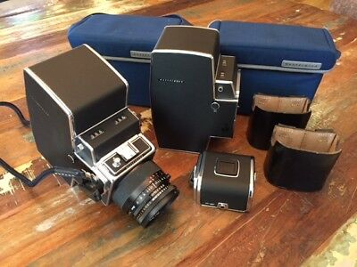 HASSELBLAD ULTRA RARE 500 FRAME 70MM 70/500 Long Roll Film Back and Case