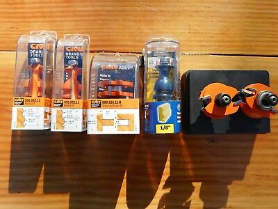 Orange Tool And Bosch Router Bits 1/2 Inch Shank New Nr 3 Day Auction