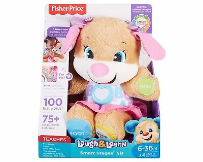 Fisher-Price Laugh and Learn Smart Stages Sis Brand New Best Christmas Gift
