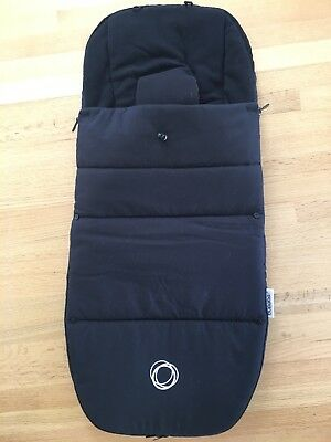 BUGABOO FOOTMUFF / COSY TOES IN BLACK Latest With Velcro Cameleon Bee Donkey