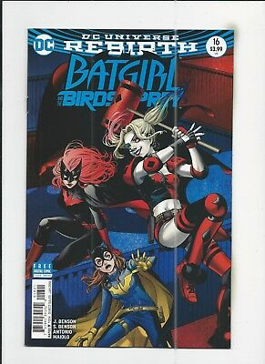Batgirl and the Birds of Prey #16 Kamome Shirahama Variant Cover (NM-) cond.