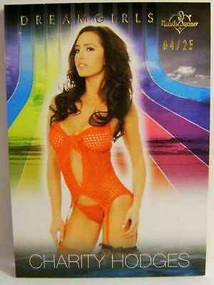 Charity Hodges Dreamgirls 4/25 Bench Warmer 2017 Rare