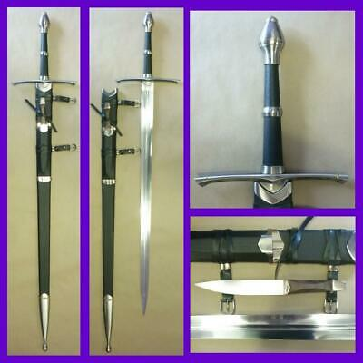 The Lord of the Rings Strider Aragorn's Ranger Sword with Scabbard Replica LOTR