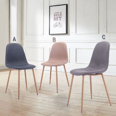 Dining Chairs, Set Of 4 Mid Century Modern Side Eames Style Chairs Side  Chairs
