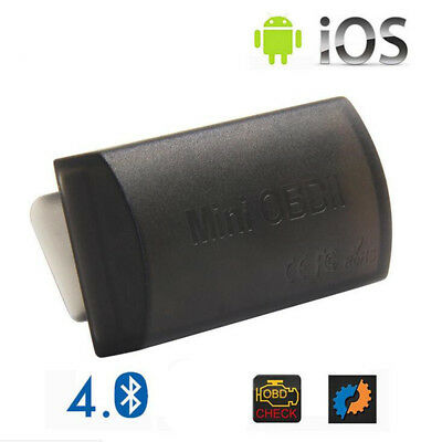 Mini OBD2 Bluetooth 4.0 Scanner Diagnostic Tool for IOS Android Symbian Windows