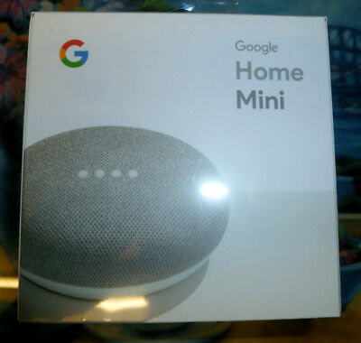 Google Home Mini -- Brand New Factory sealed With receipt for warranty