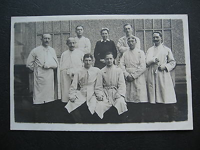 Wounded Soldiers WW1