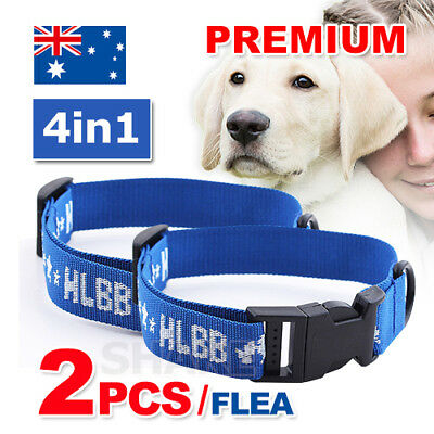 2X Dog Pet Kill Repel Egg Flea Tick Collars Mosquitoe Control Remedy Treatment