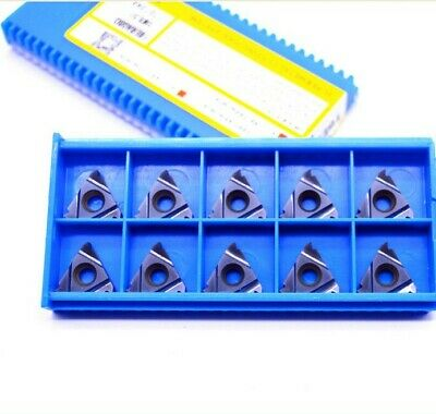 10pcs( 16ER A60 SMX35 ) Carbide Insert For Threading Turning Tool Boring BAR
