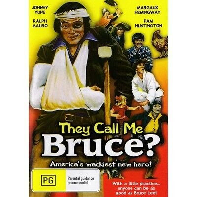 THEY CALL BE BRUCE = JOHNNY YULE  =  DVD(Australian Shipping Free)