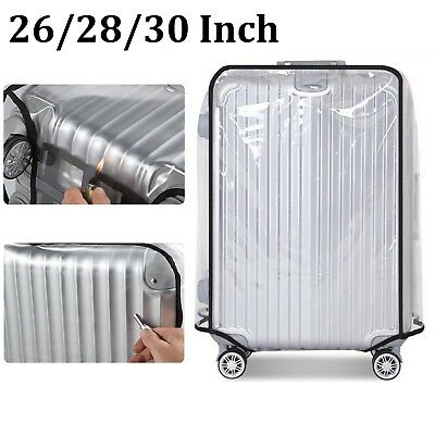PVC Dustproof Waterproof Transparent Travel Luggage Protector Suitcase Bag Cover