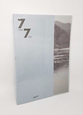 GOT7 7 for 7 [PRESENT EDITION] COZY HOUR CD+88p Booklet+Photocard+Lyrics Book